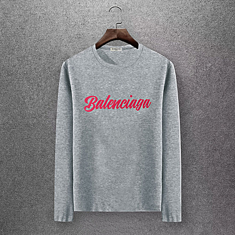 Balenciaga Long-Sleeved T-Shirts for Men #430428 replica