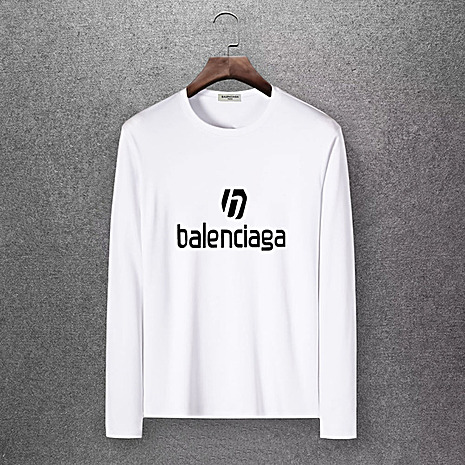 Balenciaga Long-Sleeved T-Shirts for Men #430435 replica