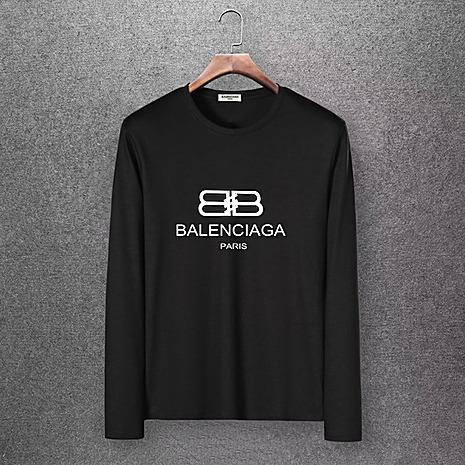 Balenciaga Long-Sleeved T-Shirts for Men #430443 replica