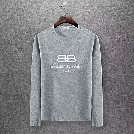 Balenciaga Long-Sleeved T-Shirts for Men #430444 replica