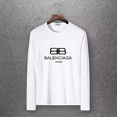 Balenciaga Long-Sleeved T-Shirts for Men #430445 replica