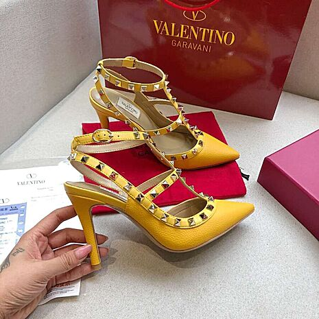valentino 9.5cm high heeled shoes for women #430467 replica