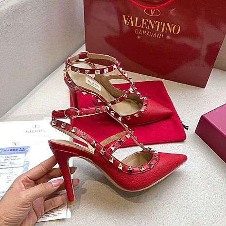 valentino 9.5cm high heeled shoes for women #430471 replica