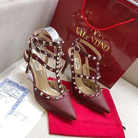 valentino 6.5cm high heeled shoes for women #430482 replica