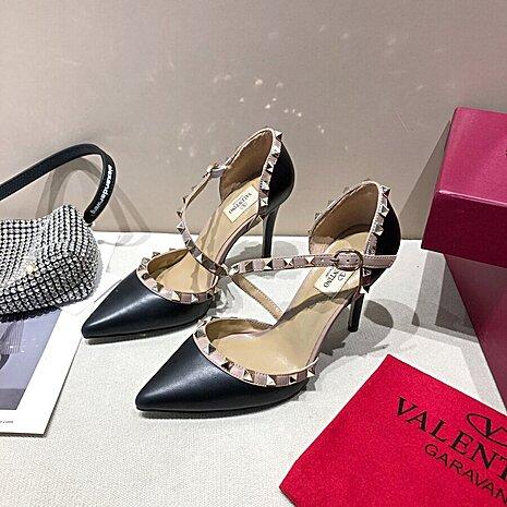 valentino 9.5cm high heeled shoes for women #430526 replica