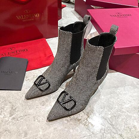 valentino 6.5cm High-heeled Boots for women #430535 replica