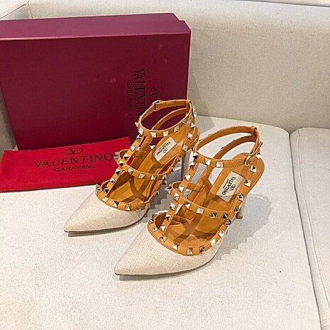 valentino 9.5cm high heeled shoes for women #430541 replica