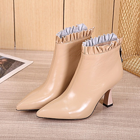 Fendi 8.5cm High-heeled Boots for women #430687 replica