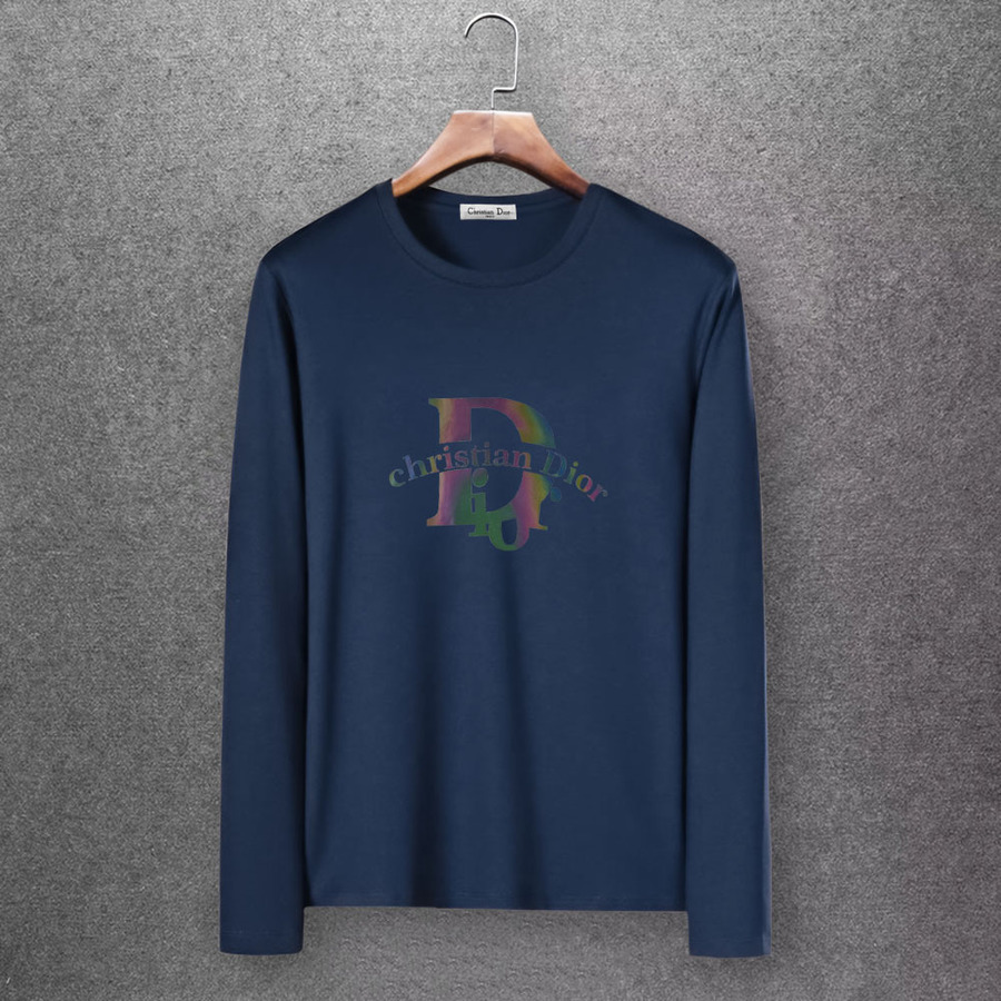 Dior Long-sleeved T-shirts for men #430153 replica