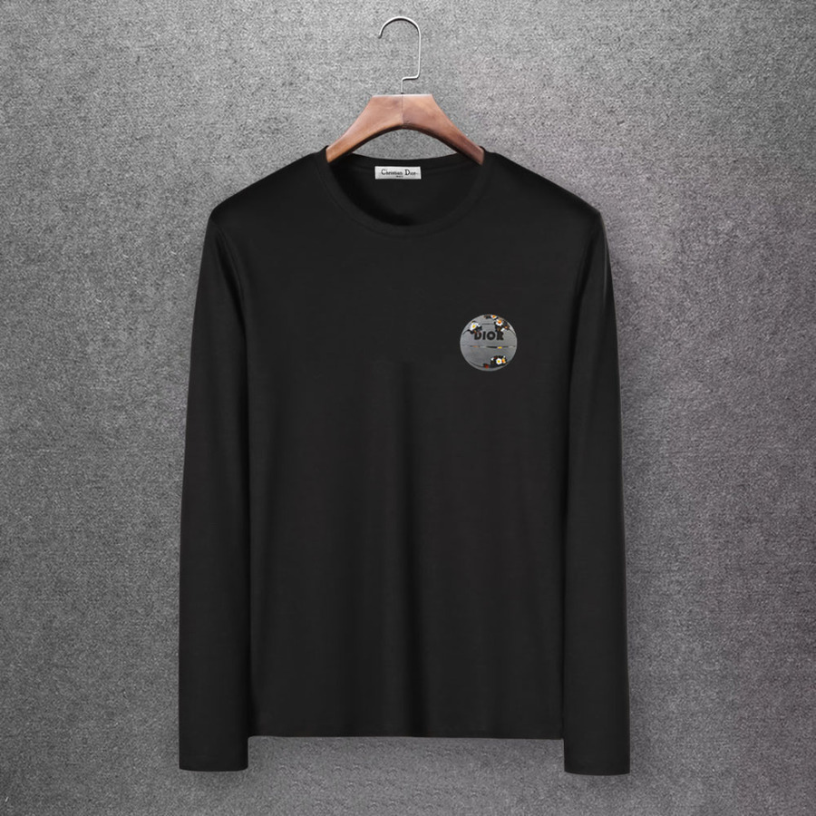 Dior Long-sleeved T-shirts for men #430159 replica
