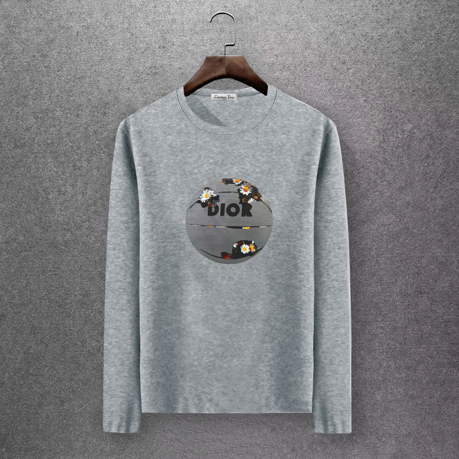 Dior Long-sleeved T-shirts for men #430163 replica