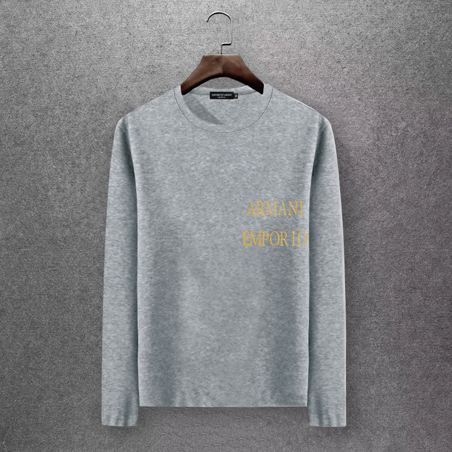 Armani Long-Sleeved T-shirts for Men #430244 replica