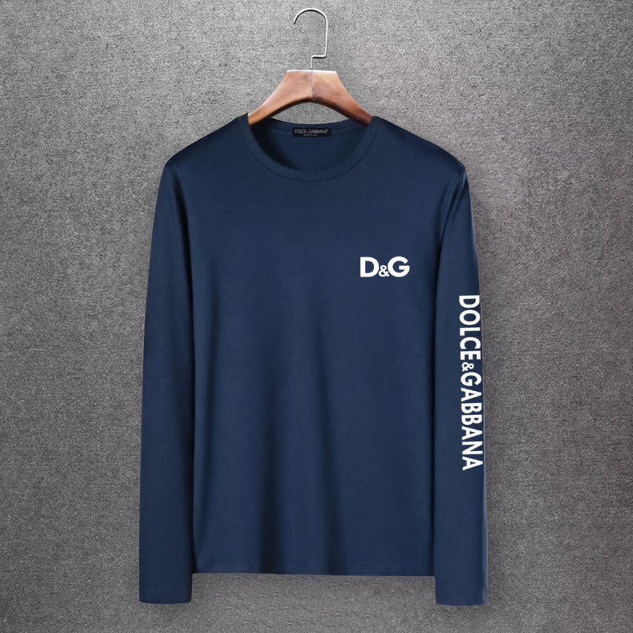 D&G Long Sleeved T-shirts for Men #430332 replica