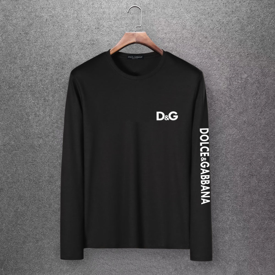 D&G Long Sleeved T-shirts for Men #430333 replica