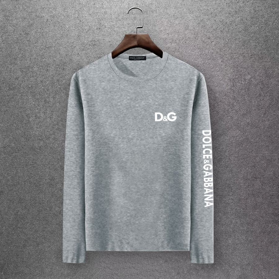 D&G Long Sleeved T-shirts for Men #430334 replica