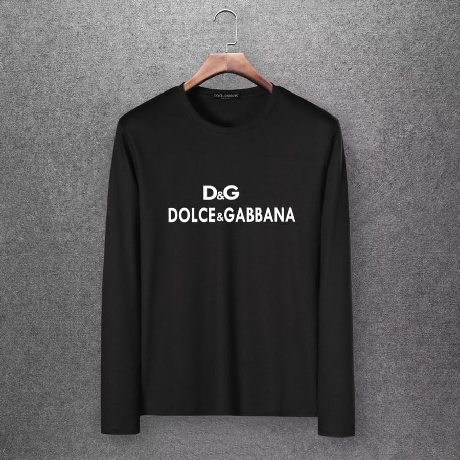 D&G Long Sleeved T-shirts for Men #430336 replica