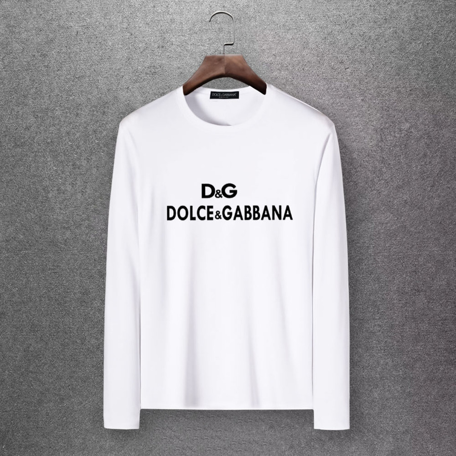 D&G Long Sleeved T-shirts for Men #430340 replica