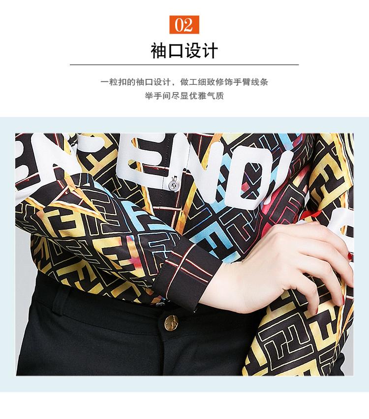 Fendi Shirts for Fendi Long-Sleeved Shirts for women #430418 replica