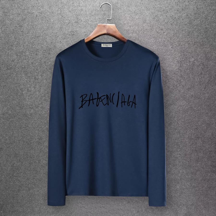 Balenciaga Long-Sleeved T-Shirts for Men #430419 replica