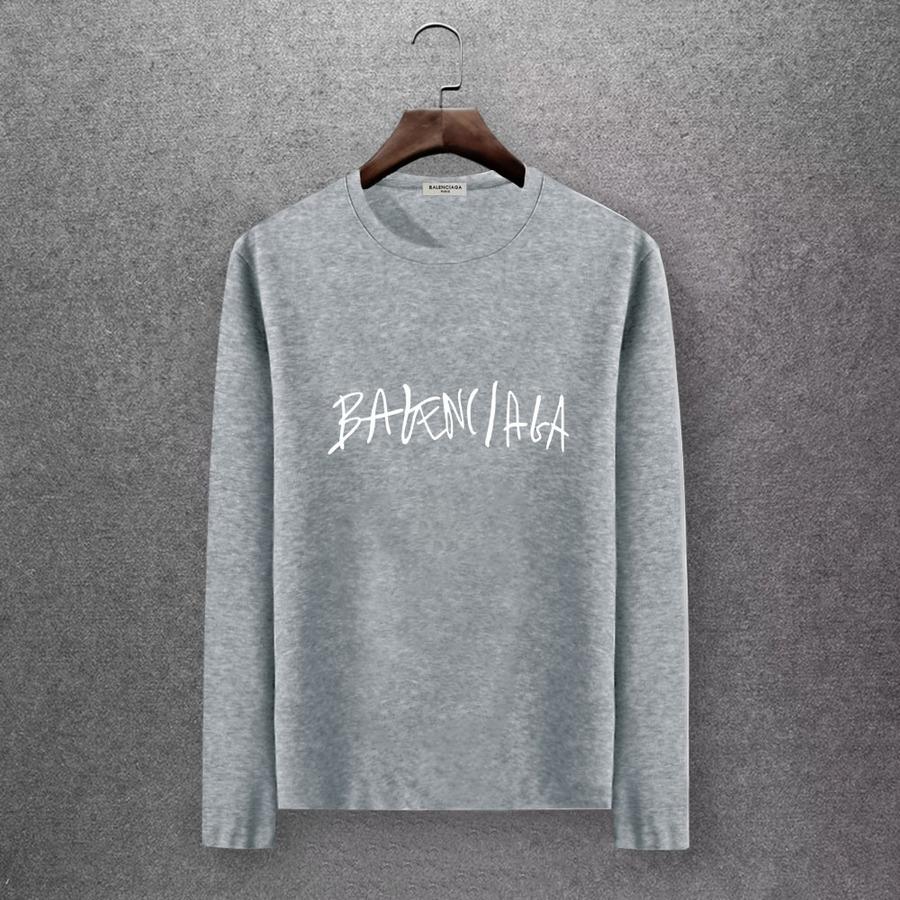 Balenciaga Long-Sleeved T-Shirts for Men #430422 replica