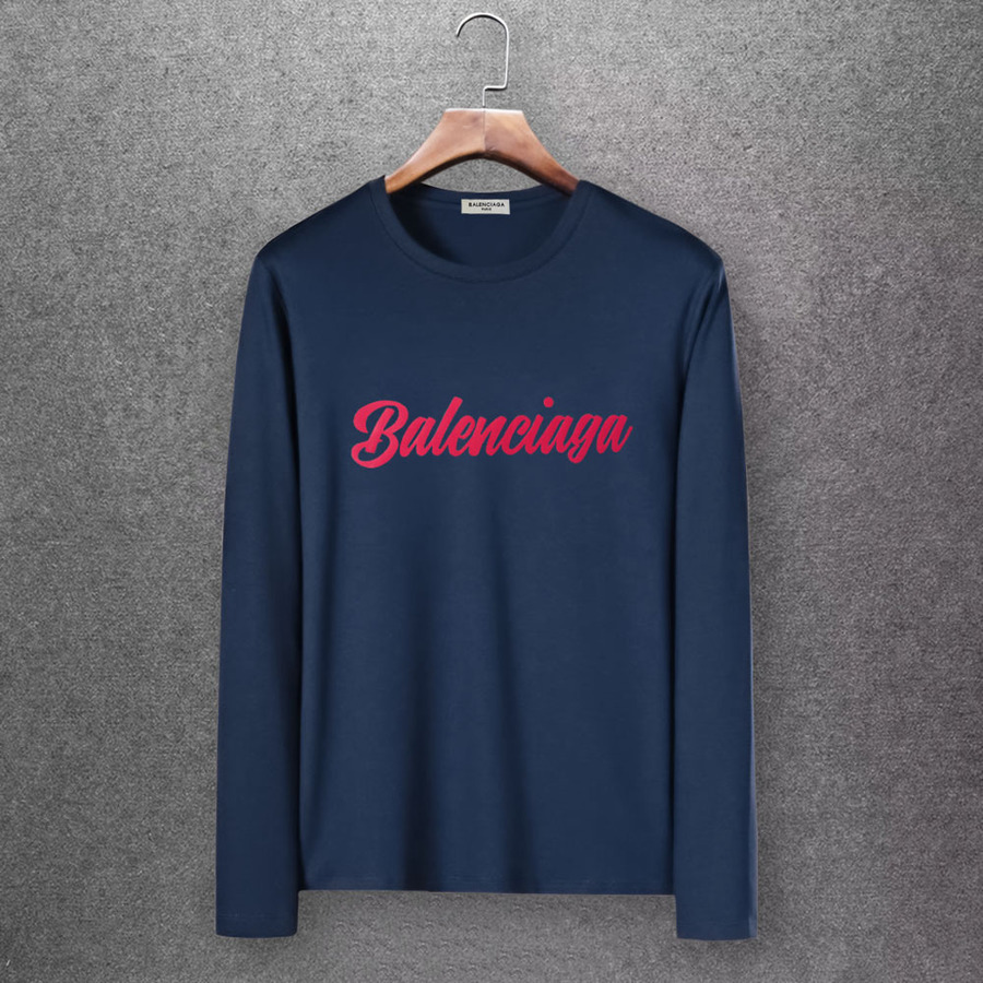 Balenciaga Long-Sleeved T-Shirts for Men #430425 replica