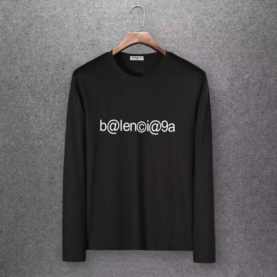 Balenciaga Long-Sleeved T-Shirts for Men #430440 replica