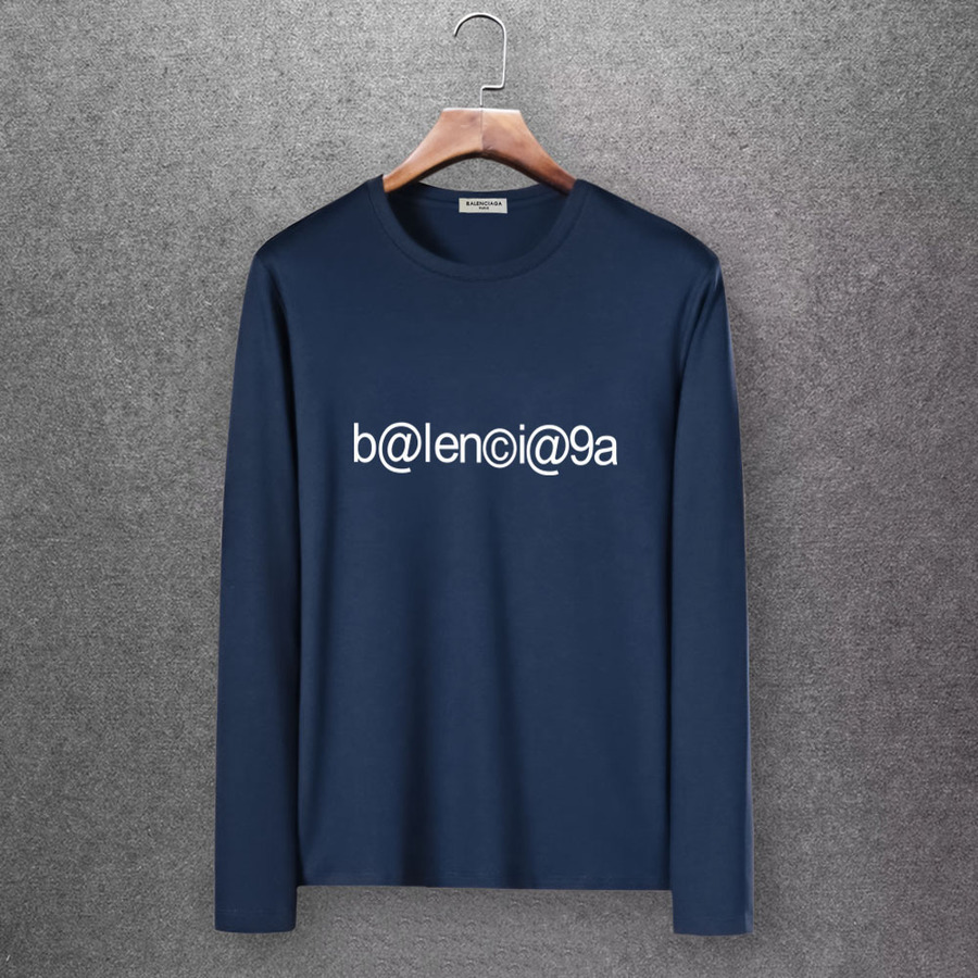 Balenciaga Long-Sleeved T-Shirts for Men #430441 replica