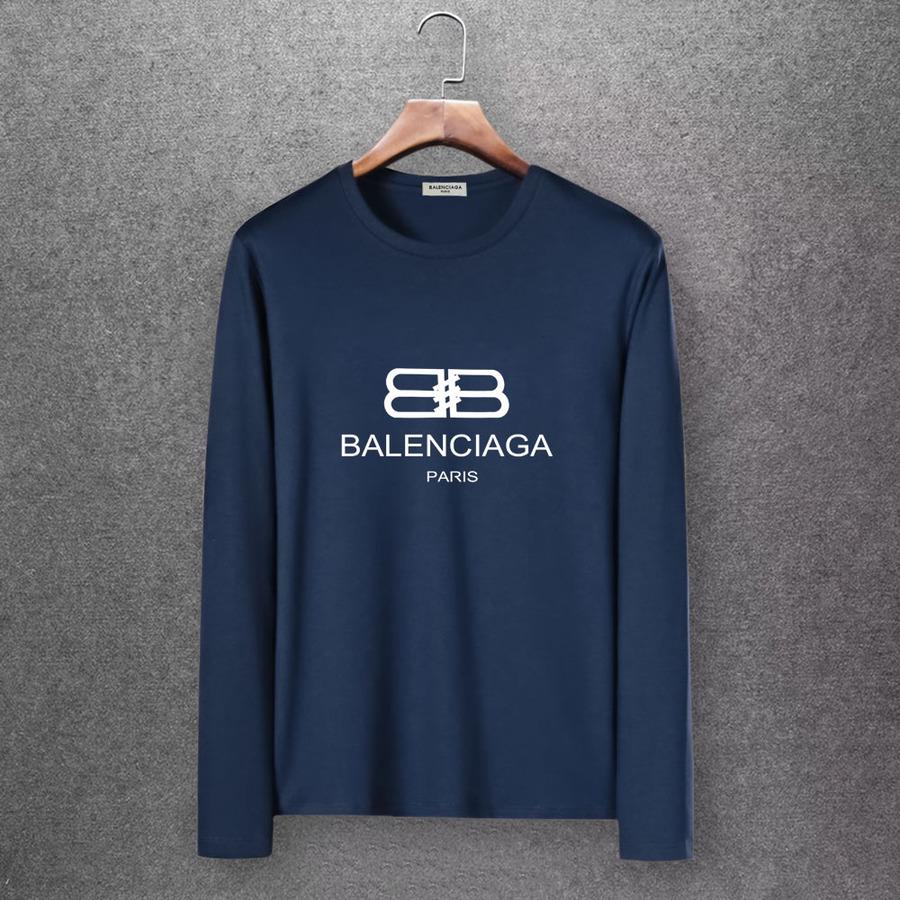 Balenciaga Long-Sleeved T-Shirts for Men #430442 replica