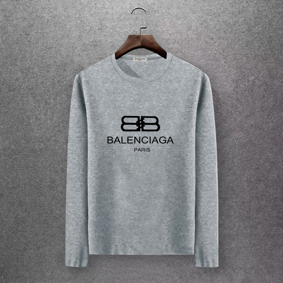 Balenciaga Long-Sleeved T-Shirts for Men #430446 replica