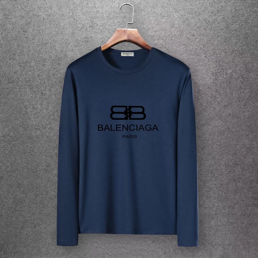 Balenciaga Long-Sleeved T-Shirts for Men #430447 replica