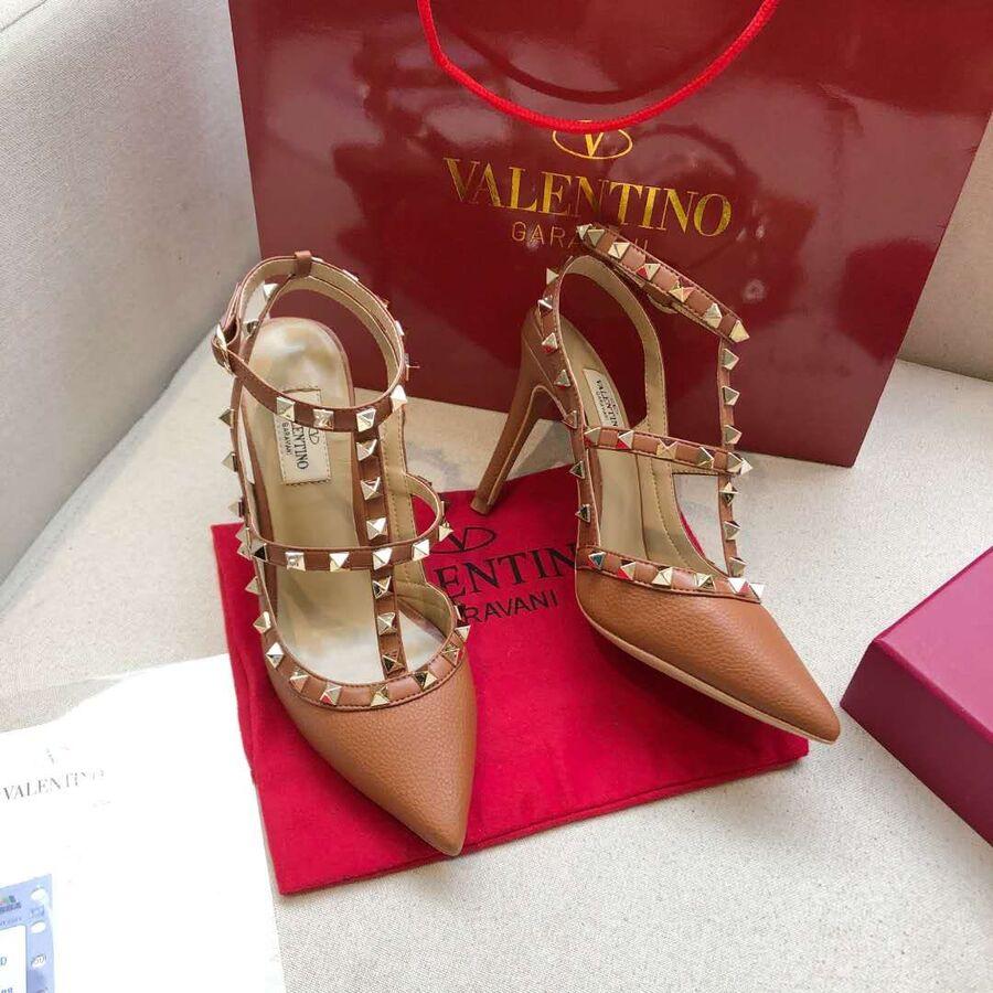 valentino 9.5cm high heeled shoes for women #430465 replica