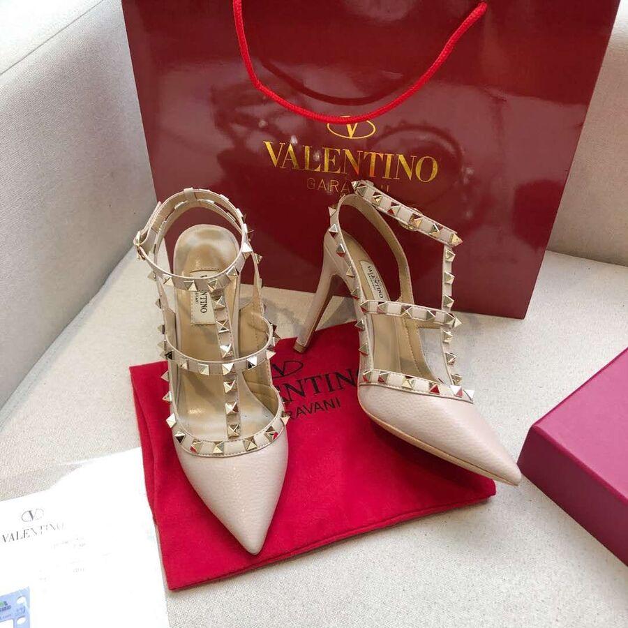 valentino 9.5cm high heeled shoes for women #430466 replica