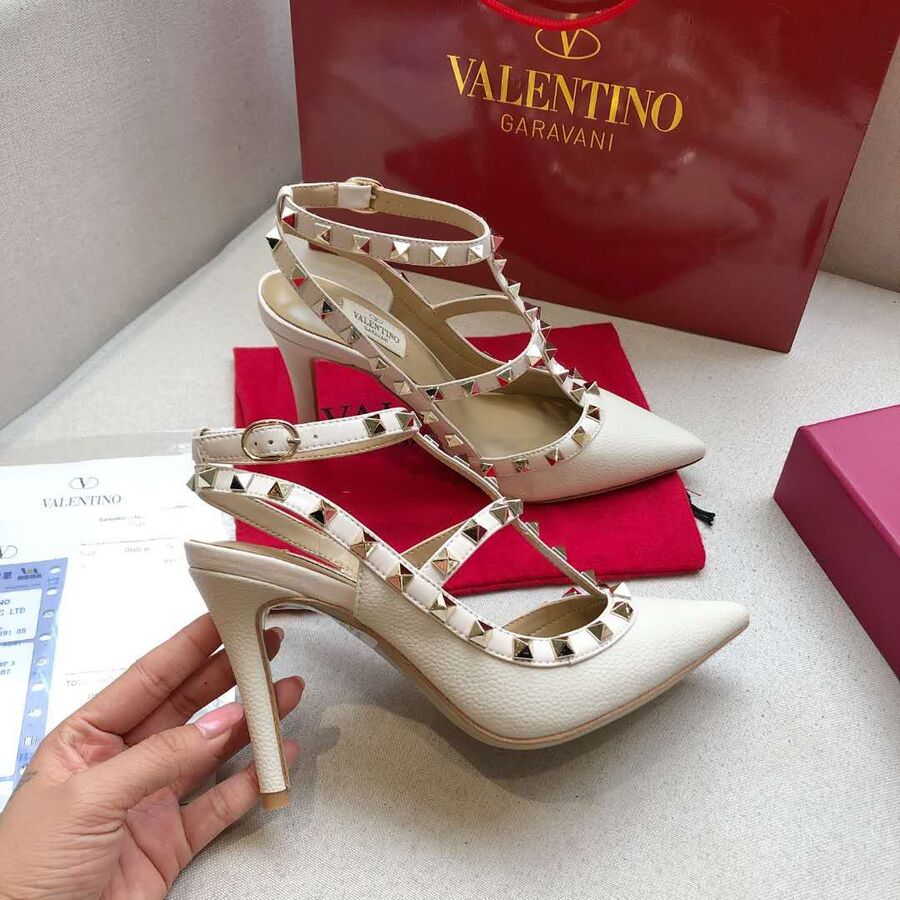 valentino 9.5cm high heeled shoes for women #430468 replica