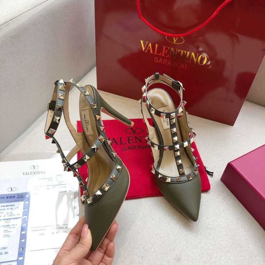 valentino 9.5cm high heeled shoes for women #430469 replica