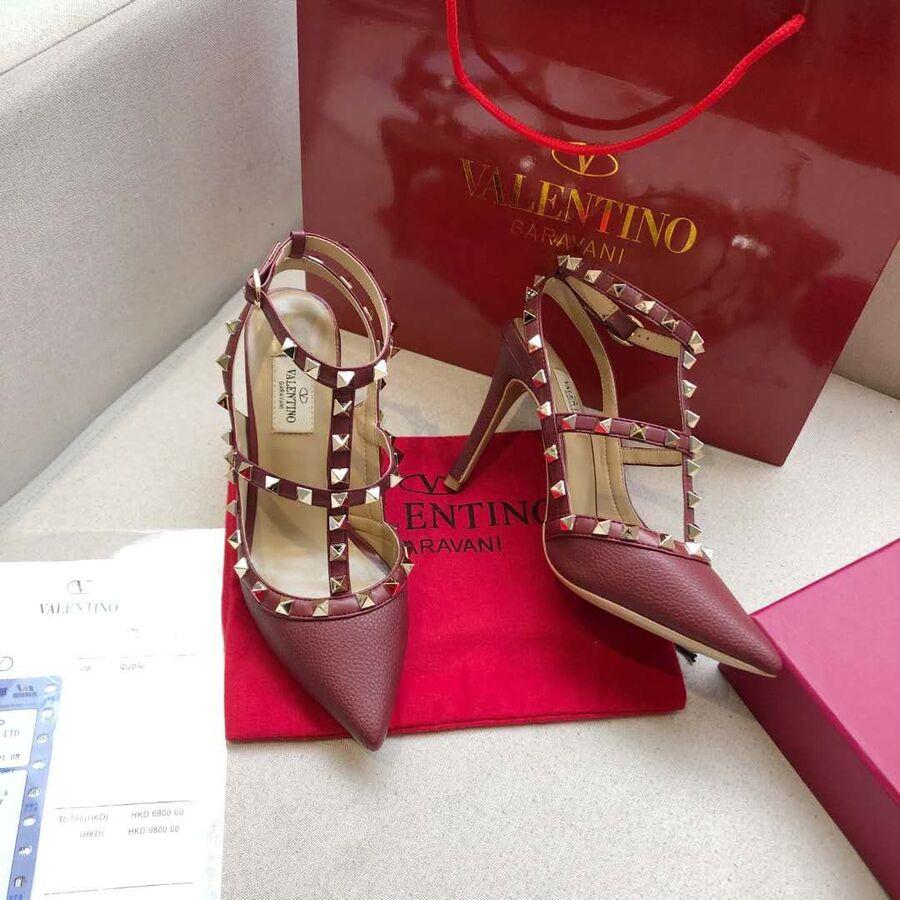 valentino 9.5cm high heeled shoes for women #430470 replica