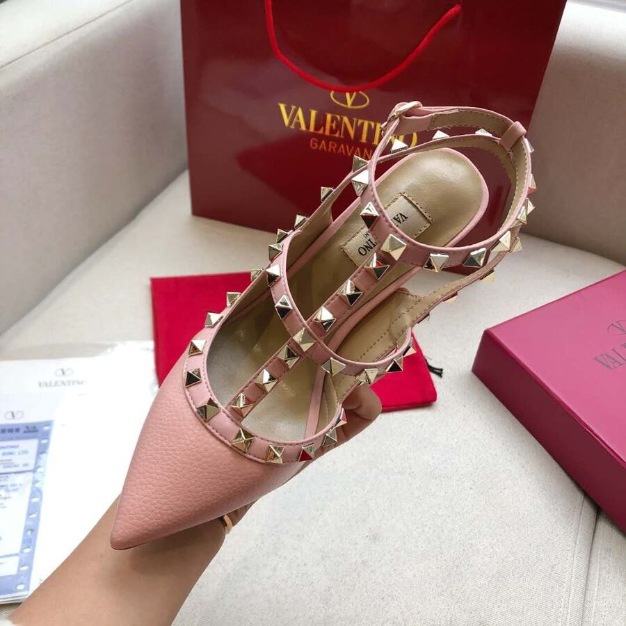 valentino 9.5cm high heeled shoes for women #430473 replica