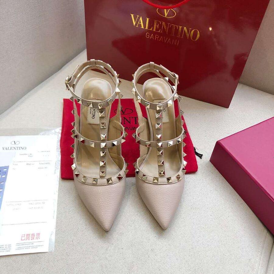 valentino 6.5cm high heeled shoes for women #430476 replica