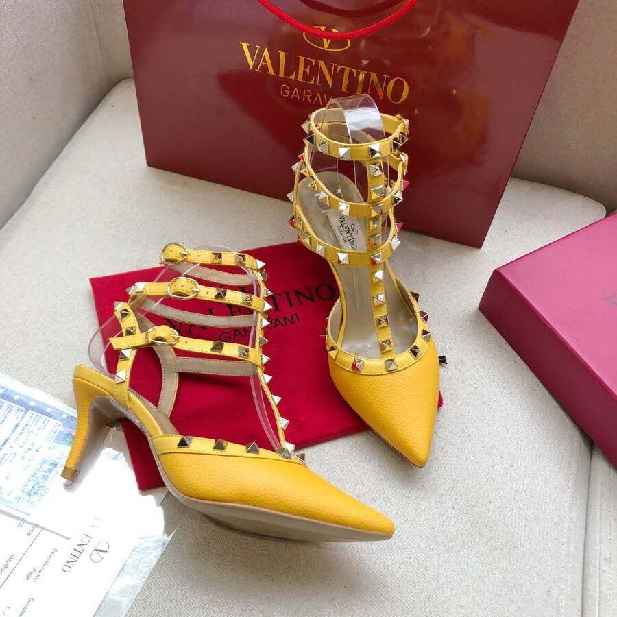 valentino 6.5cm high heeled shoes for women #430477 replica