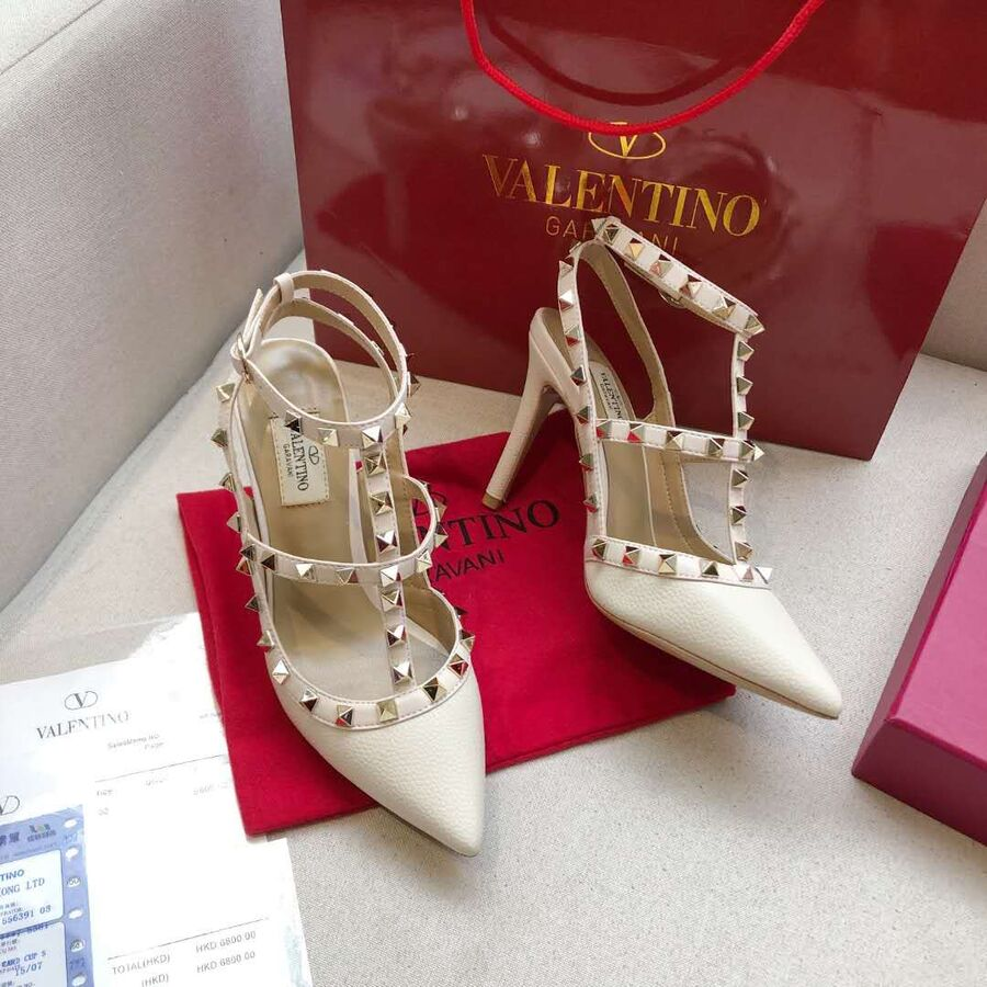 valentino 6.5cm high heeled shoes for women #430478 replica