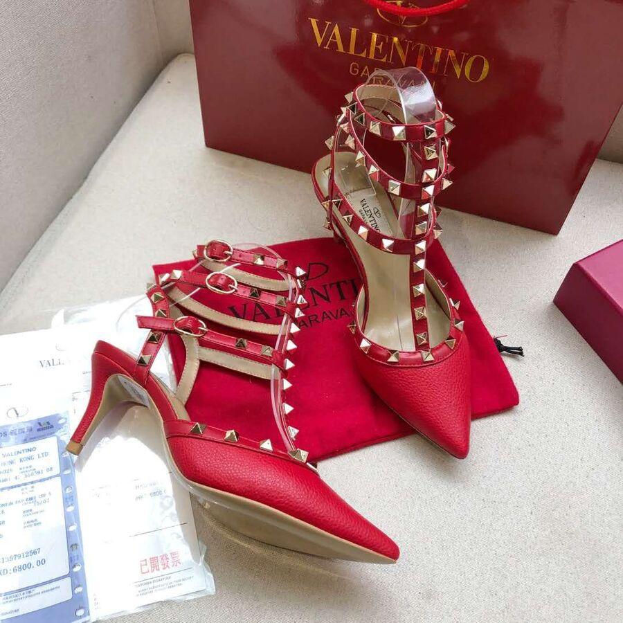 valentino 6.5cm high heeled shoes for women #430484 replica