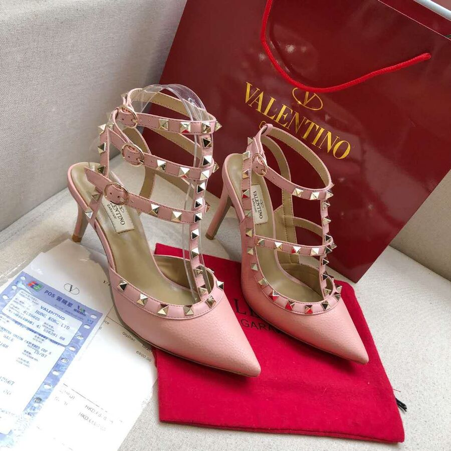 valentino 6.5cm high heeled shoes for women #430490 replica