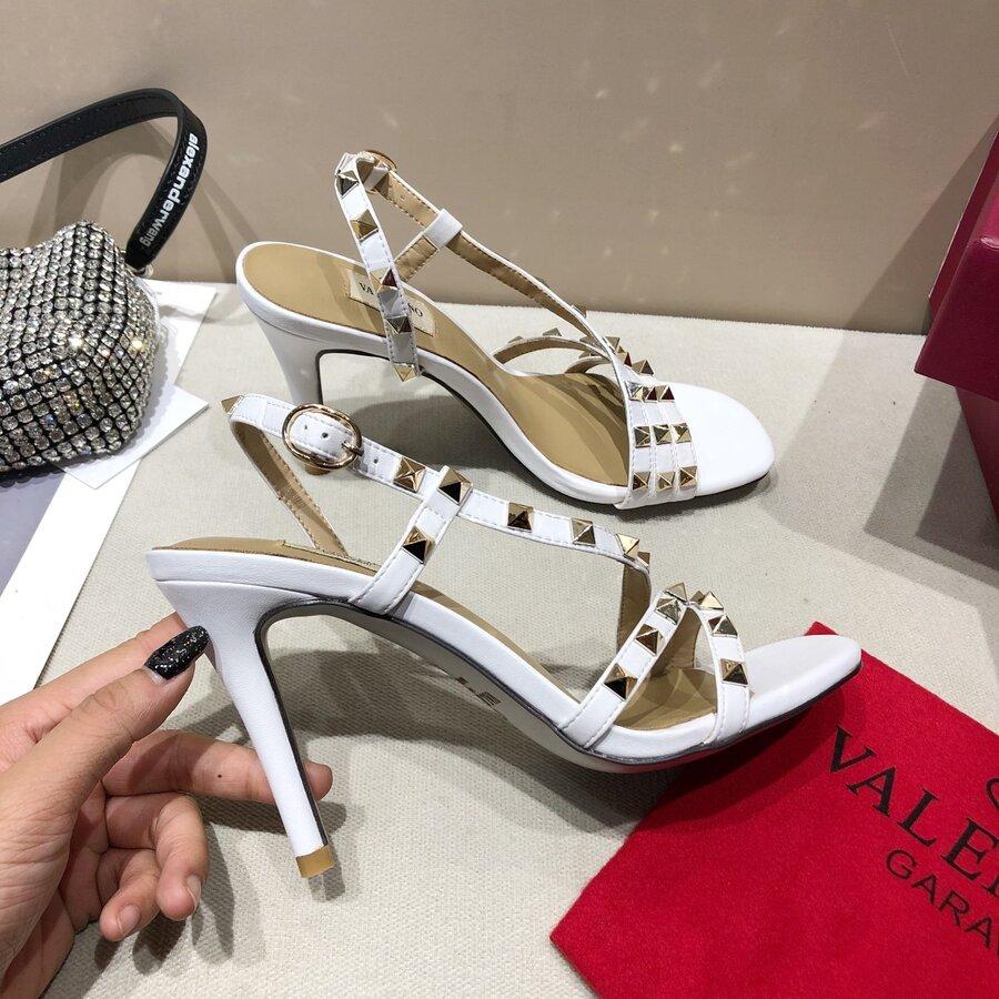 valentino 9.5cm high heeled shoes for women #430519 replica
