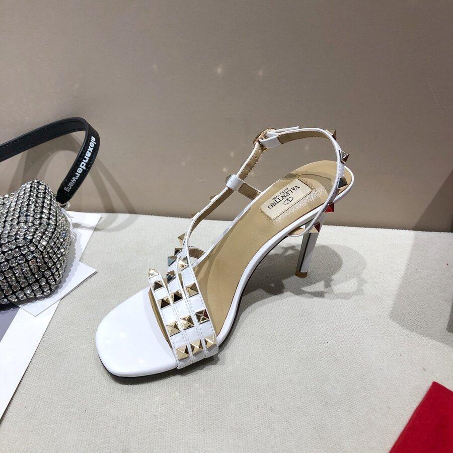 valentino 9.5cm high heeled shoes for women #430521 replica