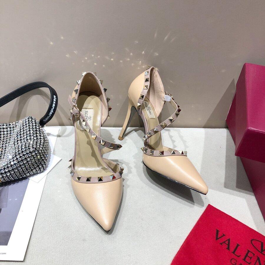 valentino 9.5cm high heeled shoes for women #430524 replica