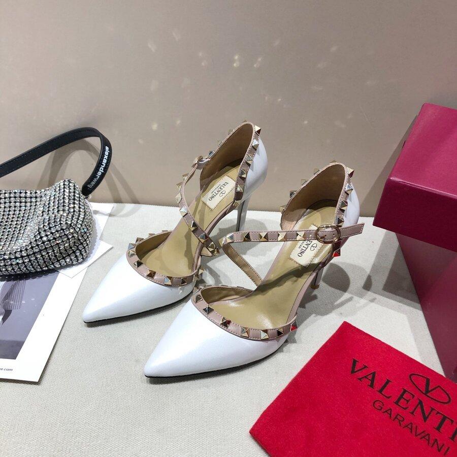 valentino 9.5cm high heeled shoes for women #430525 replica