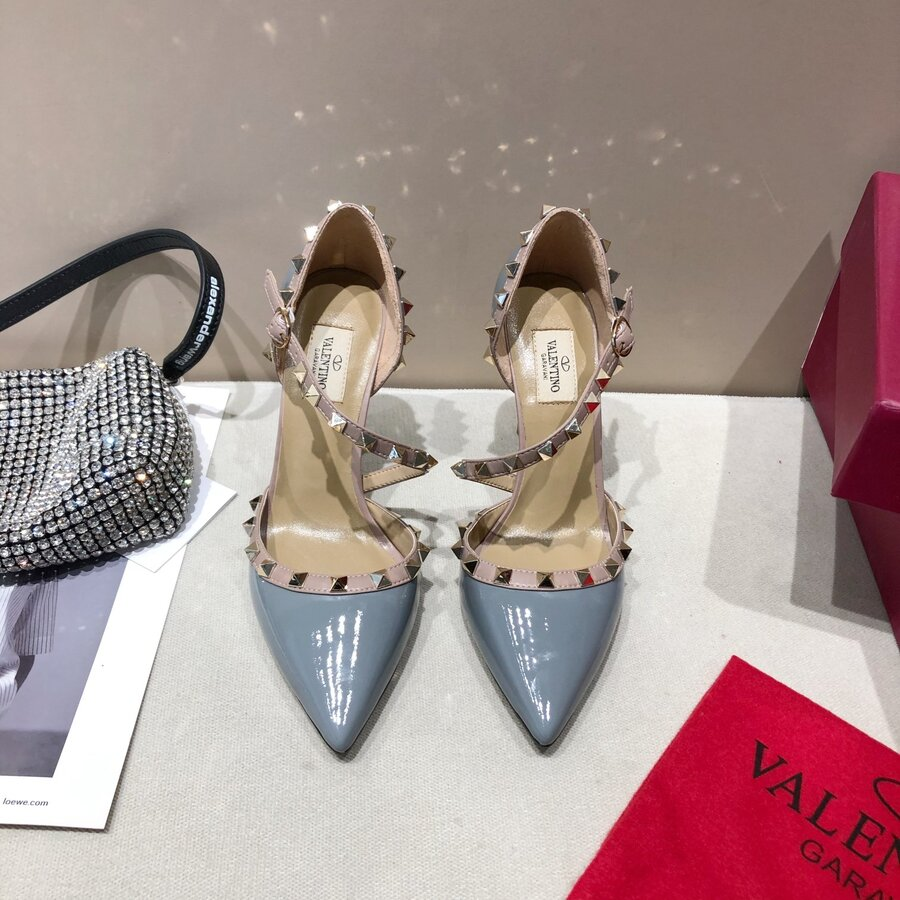 valentino 9.5cm high heeled shoes for women #430527 replica