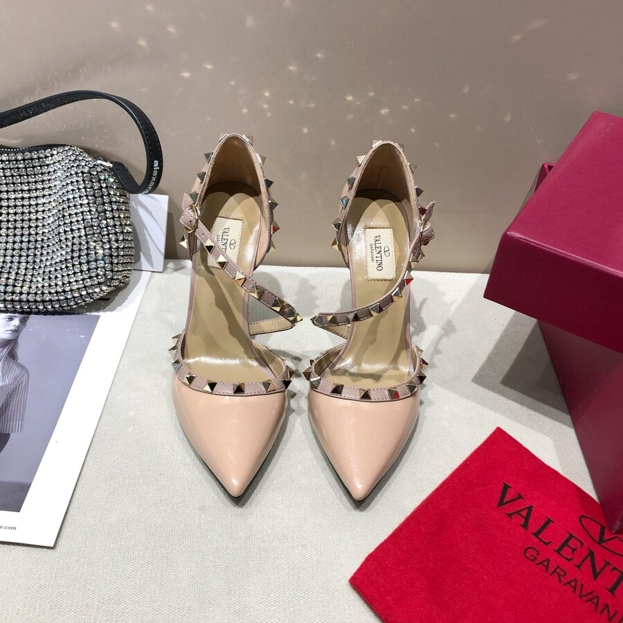 valentino 9.5cm high heeled shoes for women #430528 replica