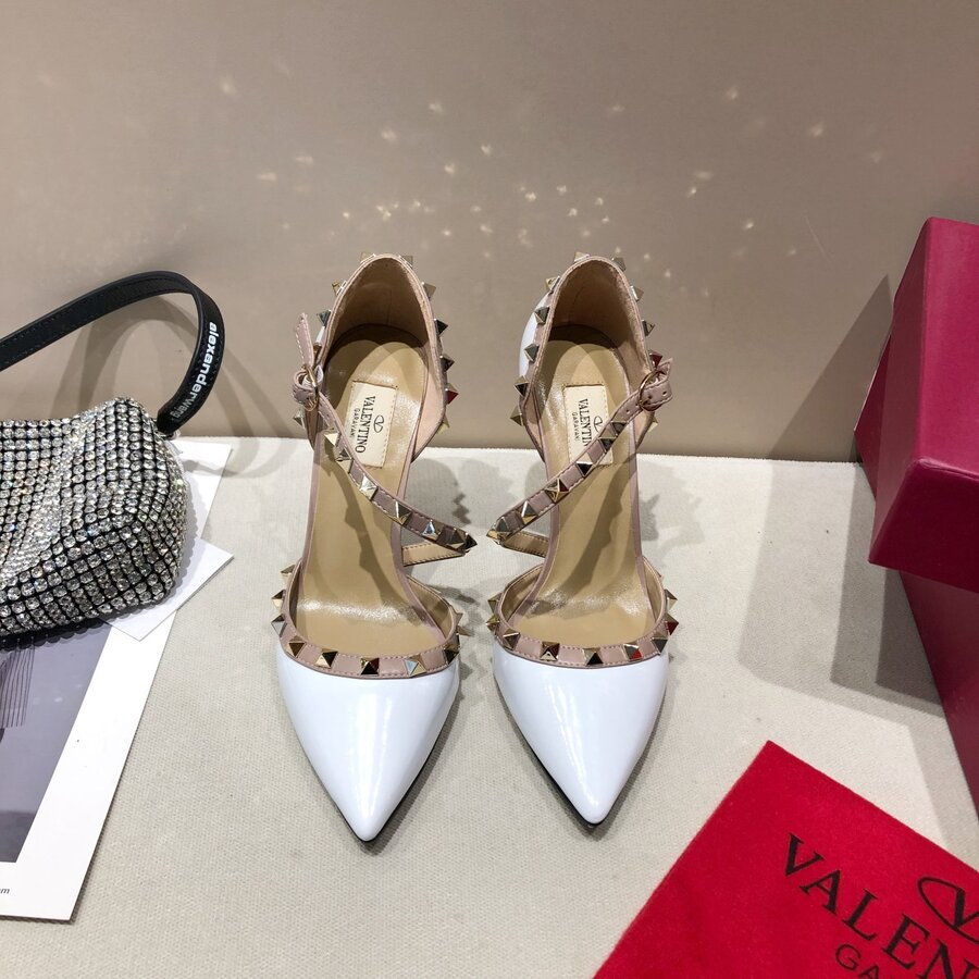 valentino 9.5cm high heeled shoes for women #430529 replica