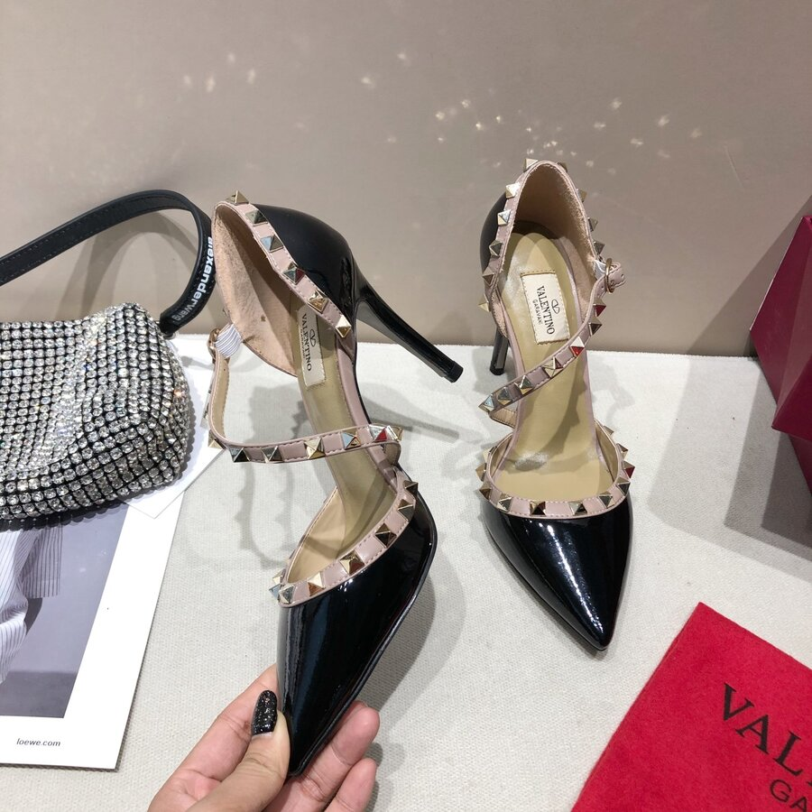 valentino 9.5cm high heeled shoes for women #430530 replica