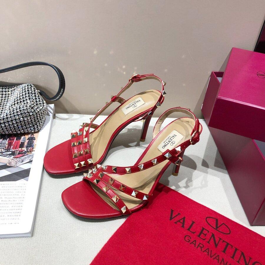 valentino 9.5cm high heeled shoes for women #430532 replica